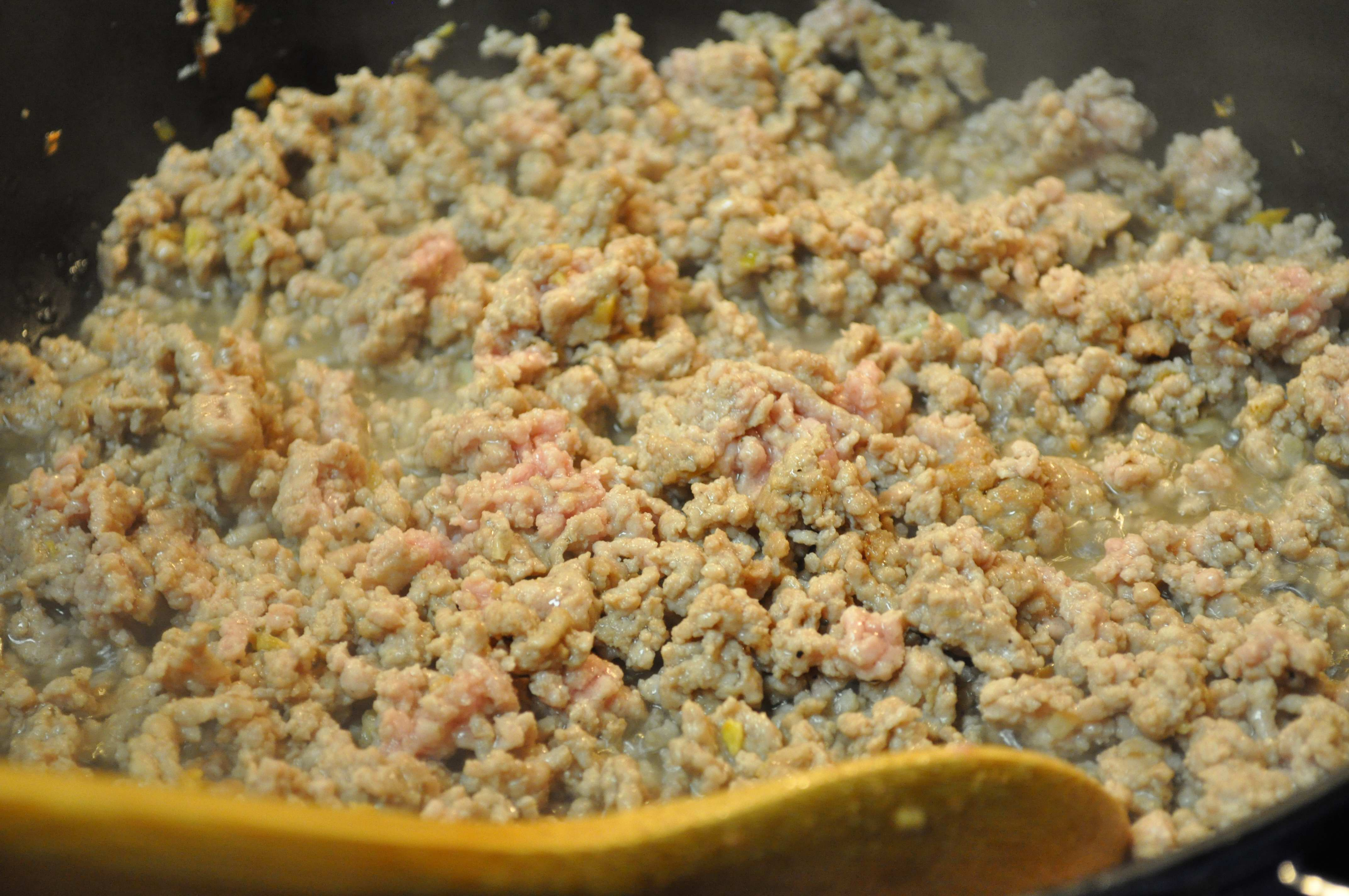 Cooked Ground Pork