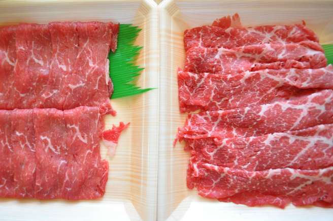 sliced rib eye for shabu shabu
