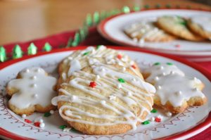 Meyer Lemon Almond Cookies